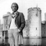 Peter Davison at Bodiam Castle