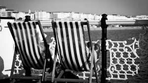 Couple on Brighton Pier